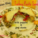 Gluten Free Turkey Pesto Sandwich
