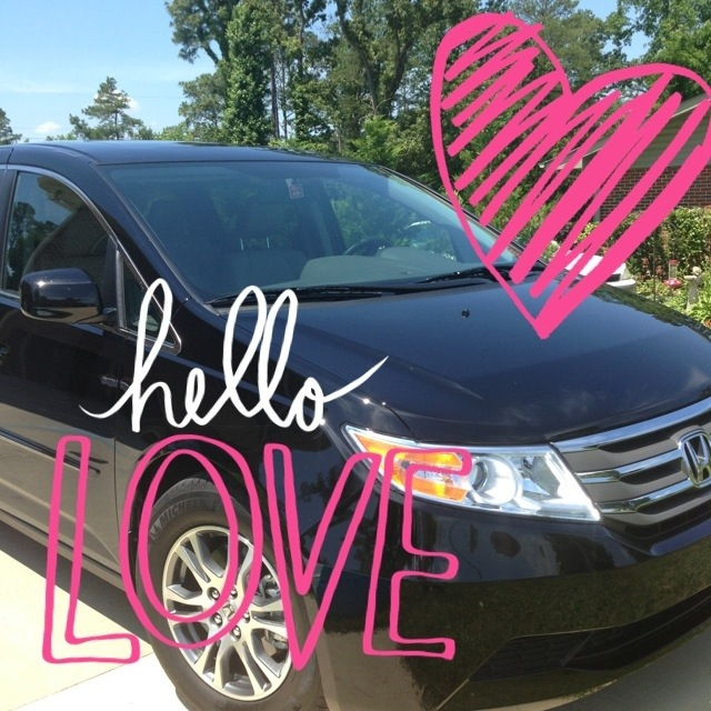 How I Fell In Love With a Honda Odyssey